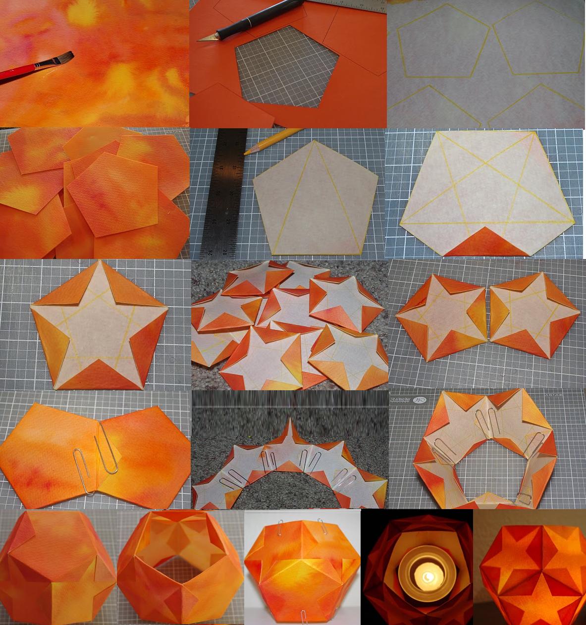 Top Come fare una lanterna di carta stupenda – Scuola Steiner Lucca NA95
